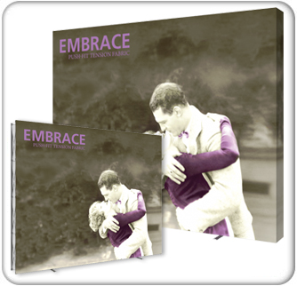 embrace 12ft extra tall tension fabric display product