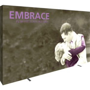 Embrace 12ft Push-Fit Tension Fabric Display