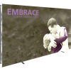 Embrace 12ft Push-Fit Tension Fabric Display front left
