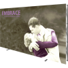 Embrace 12ft Push-Fit Tension Fabric Display front right