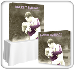 Embrace 5ft Backlit Tension Fabric Display product