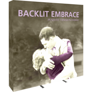 Embrace 7.5ft Backlit Tension Fabric Display