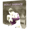 Embrace 7.5ft Backlit Tension Fabric Display right