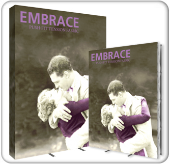 Embrace 7.5ft Push-Fit Tension Fabric Display product