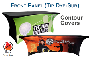 front panel tip dye-sub contour covers