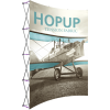 hopup 10ft curved tension fabric display front graphic left