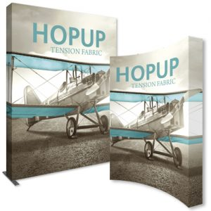 HopUp 10ft Height Tension Fabric Display