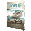 hopup 10ft straight tension fabric display front graphic right