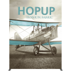 hopup 10ft straight tension fabric display full fitted graphic front