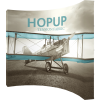 HopUp 13ft Curved Tension Fabric Display right