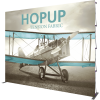 HopUp 13ft Straight Tension Fabric Display front graphic right