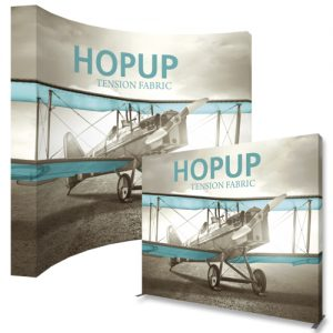 HopUp 13ft Tension Fabric Display