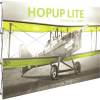 HopUp Lite 10ft Straight Tension Fabric Display front left