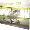 HopUp Lite 10ft Straight Tension Fabric Display front right