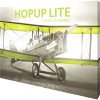 HopUp Lite 10ft Straight Tension Fabric Display right