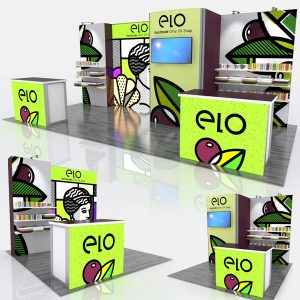 Retail ELO 20Ft Modular Display System