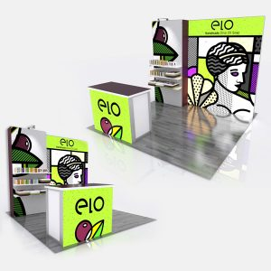 Retail ELO Flat Modular Display System