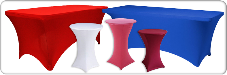 spandex table covers product