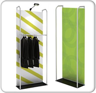 waveline banner stand merchandiser display kit