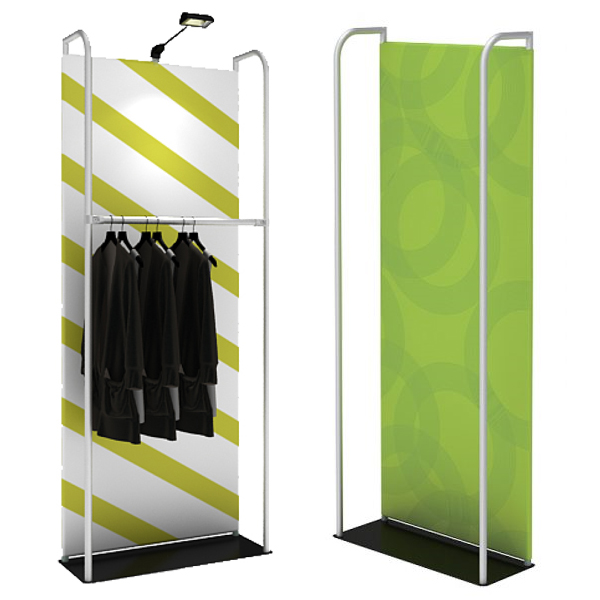 waveline banner stand merchandiser display product