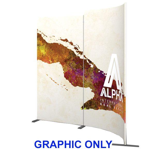 Modulate 10Ft Fabric Backwall Display 7 Graphics