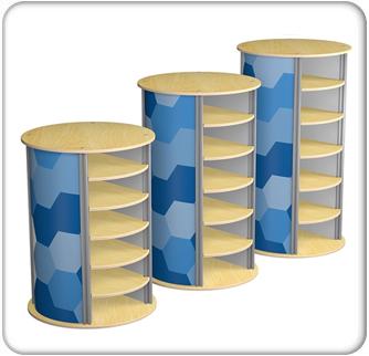 twist 5-up large circle pedestal product