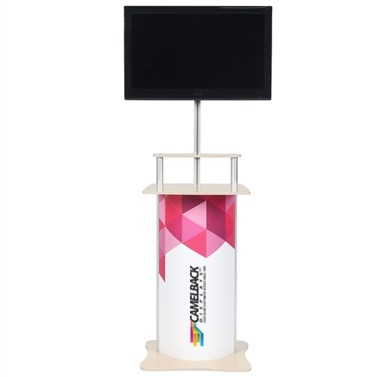 Twist Counter Pop-Up Monitor Stand Horizontal