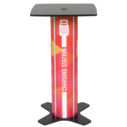 Twist Square Bar Table Charging Station