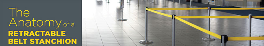 Beltrac Belt Stanchions Features and Benefits