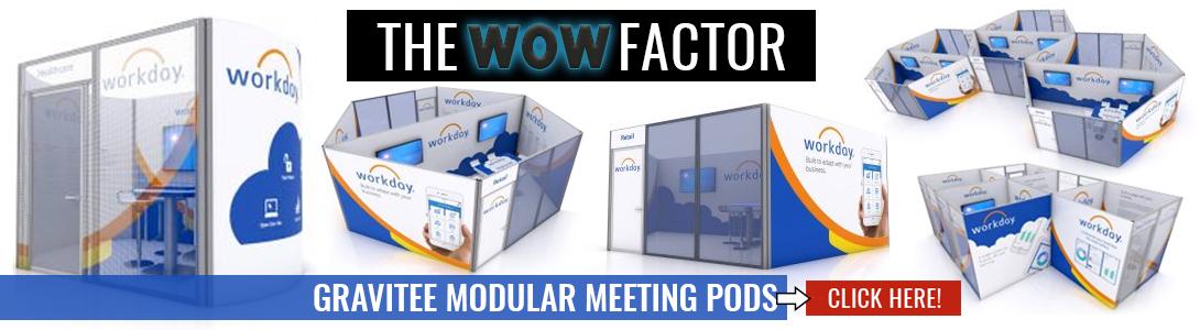 gravitee modular meeting pods banner