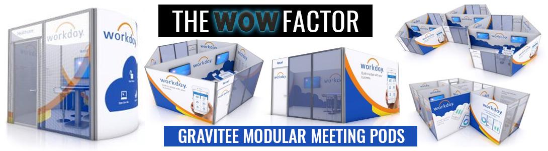 gravitee modular meeting pods