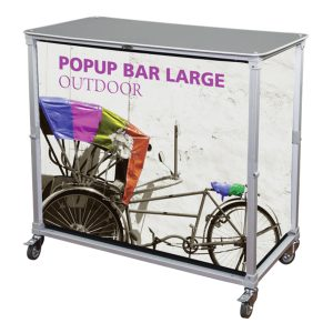 Trade Show Portable Popup Large Bar