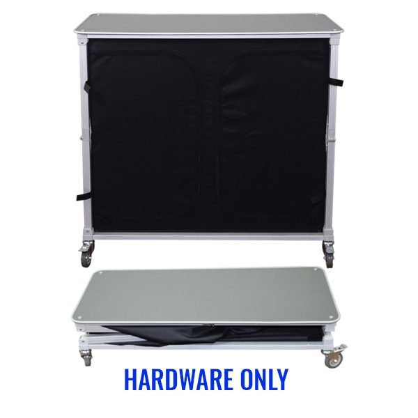 Trade Show Portable Popup Large Bar Hardware