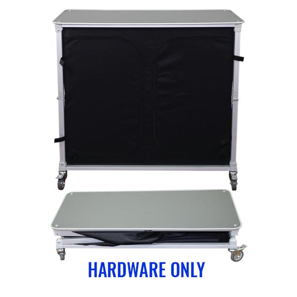 Trade Show Portable Popup Large Bar Hardware