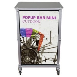 Trade Show Portable Popup Mini Bar