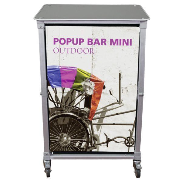 Trade Show Portable Popup Mini Bar