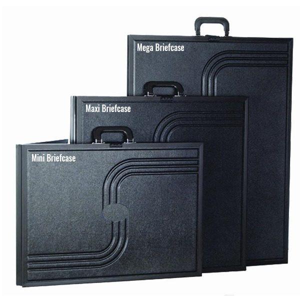 voyager mini briefcase display