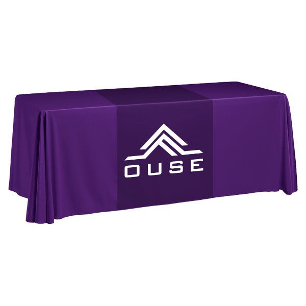 Wyndham One Color Logo Table Runner