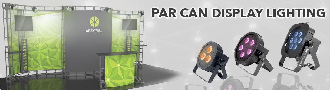 Par Can Display Lighting