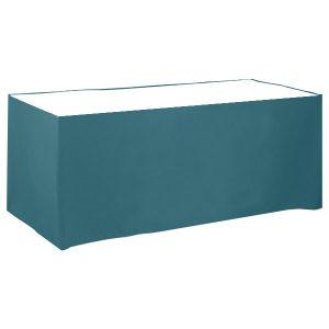 Poly Poplin Flat Blank Table Skirt/Wrap