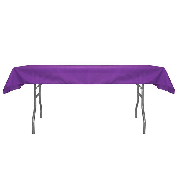 Poly Standard Fabric Non-Printed Table Topper