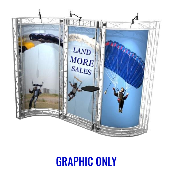 sausalito ez-6 10x10 booth graphic