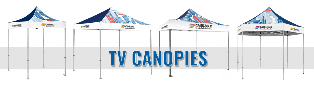 tv canopies tents