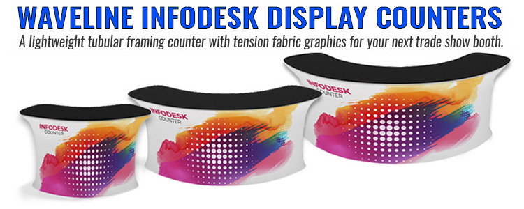 waveline infodesk display counters