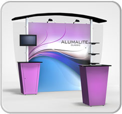 10FT Alumalite Classic Arch AL2 Hybrid Display Product