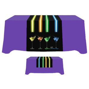 "30"" x 84"" Poly Poplin Digital Printed Table Runner"