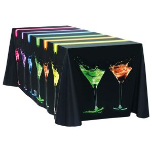 4' Poly Poplin Throw Cover Full Printed