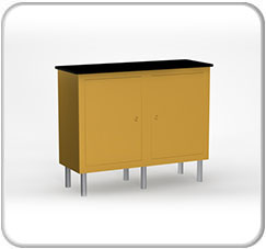 Alumalite Lineare DOuble Wide Free Standing ALC9 Counter Product
