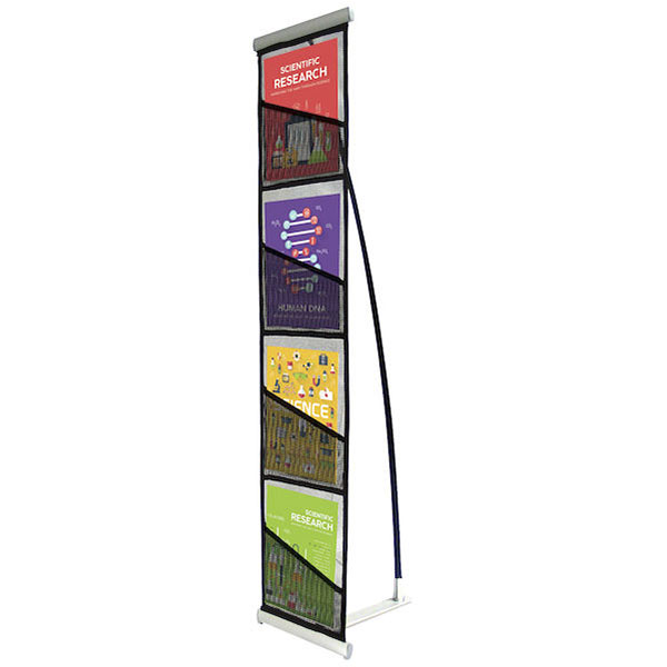 Roll-Up Literature Display