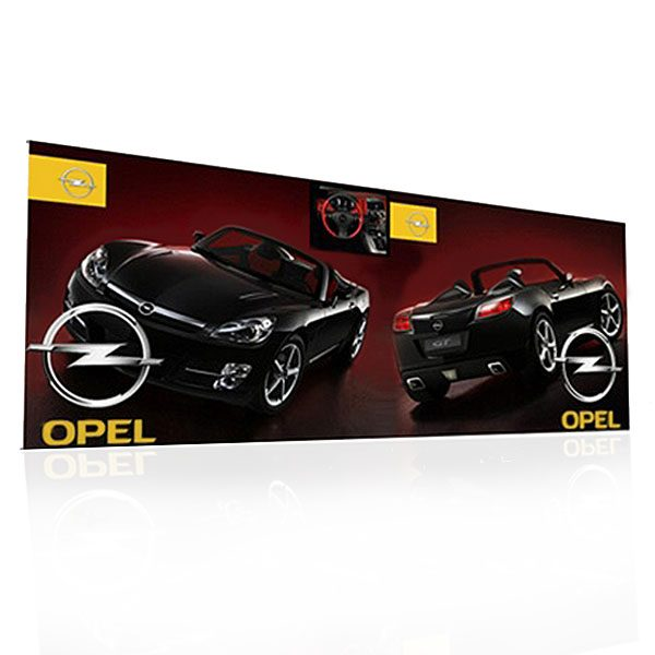 Trade Display Stands : Punto banner stand backwall banners pop up trade show displays